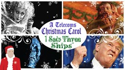 "A telecoms Christmas carol: ""I saw three ships"""