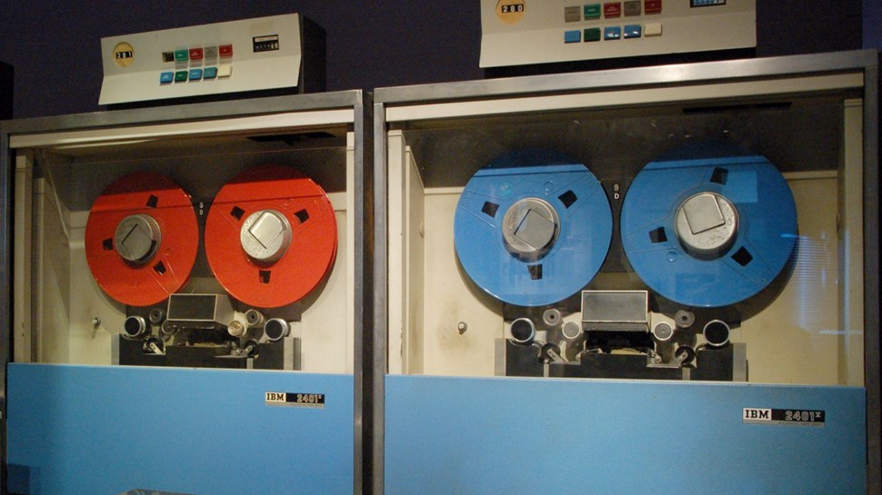 The Ibm 2401 Maninframe Via Flickr La Case Photo De Got Cc By 2 0 Magnetic Tape Data Storage