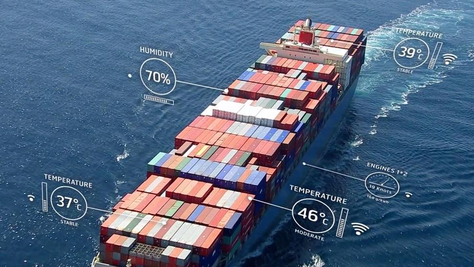 Inmarsat IoT ship