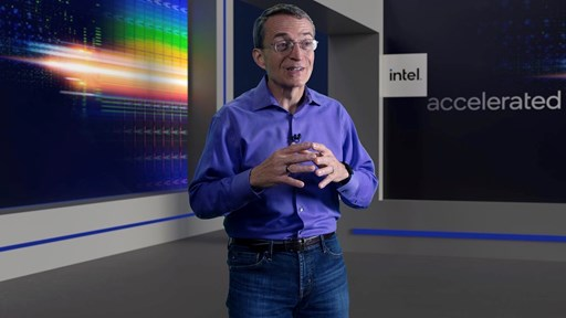 Intel CEO Pat Gelsinger: Picture courtesy of Intel Corp.