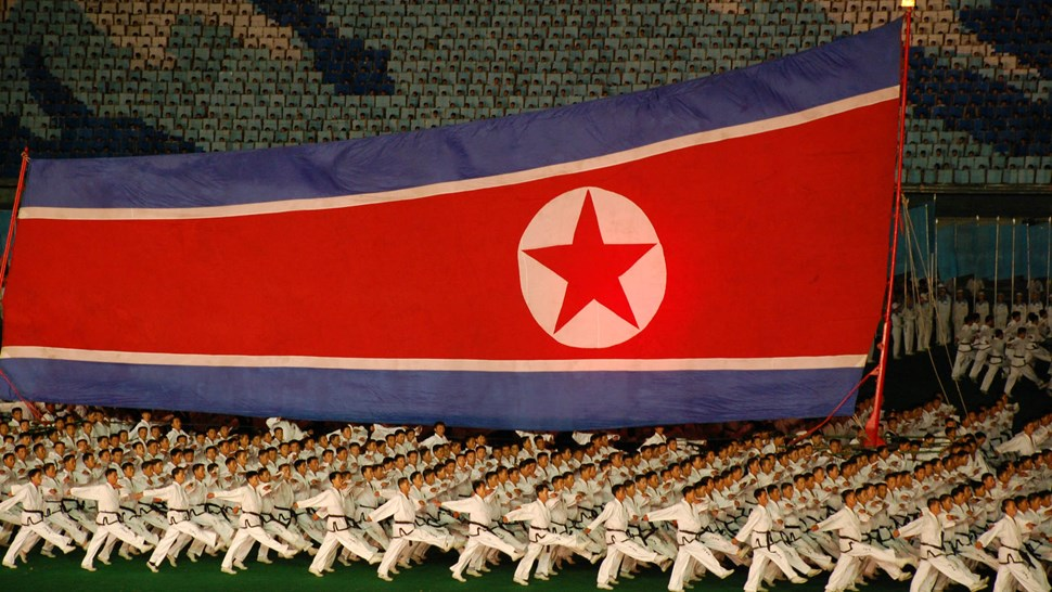 korea marching