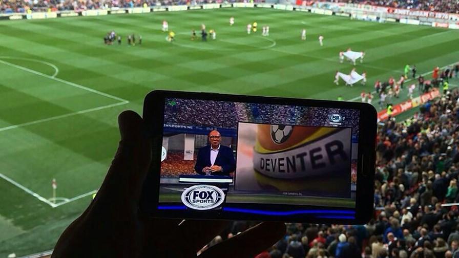 Amsterdam Arena LTE Broadcast app © IBM
