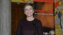 Vestager: four to three mobile operator consolidation not a 'done deal'
