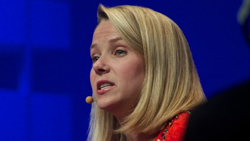 via Flickr © Adam Tinworth (CC BY-ND 2.0)   Marissa Mayer, Chief Executive Officer of Yahoo!