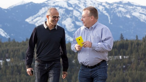After its announcement of massive job cuts, Microsoft sees an end to Nokia losses