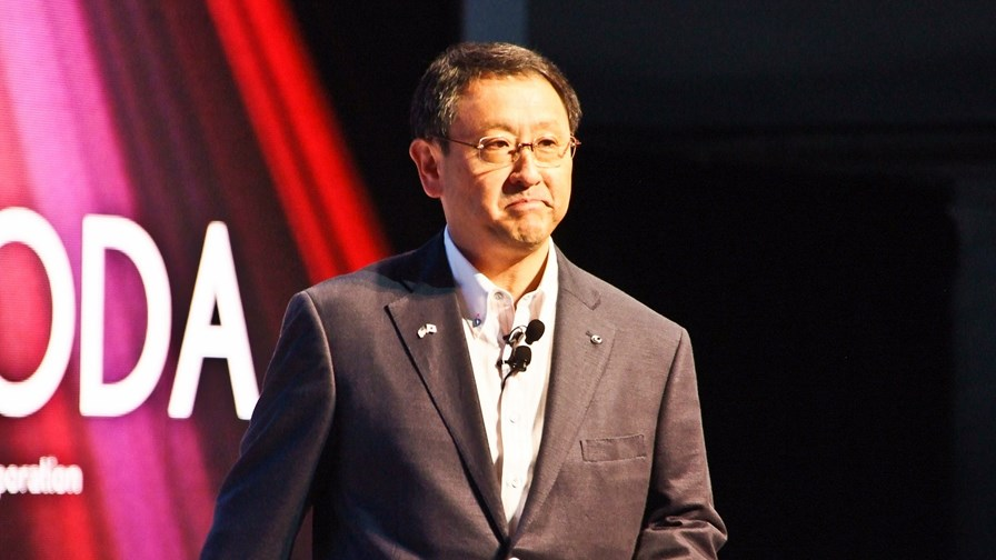 Akio Toyoda, the President of the Toyota Motor Corporation.                     © Motohide Miwa (CC-BY-2.0)