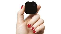 Is this the next little thing? A tiny camera to snap away at your day
