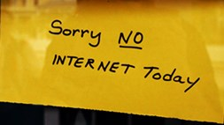 Fifteen per cent of US citizens are still without any Internet access, mainly due to poverty