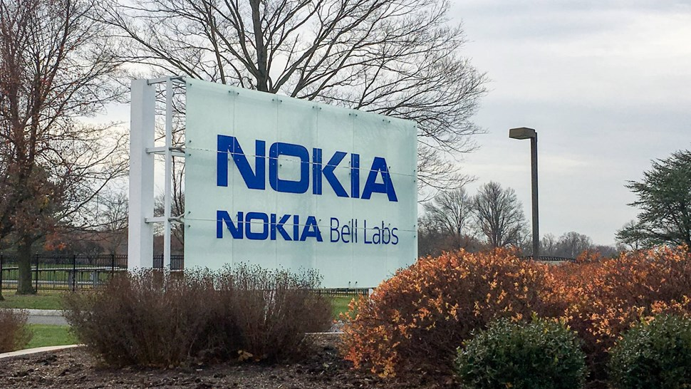 Nokia Bell Labs sign