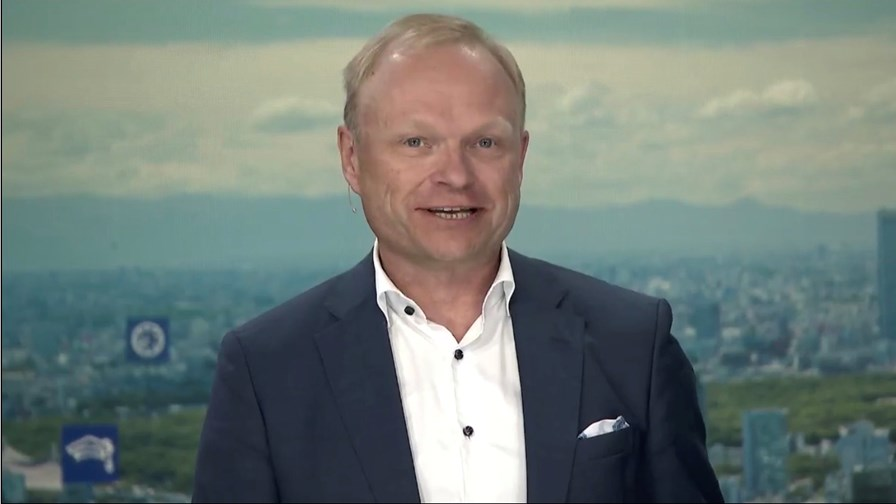 Nokia CEO Pekka Lundmark during the vendor's Q2 2021 earnings conference call