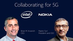 Intel and Nokia Discuss 5G Collaboration