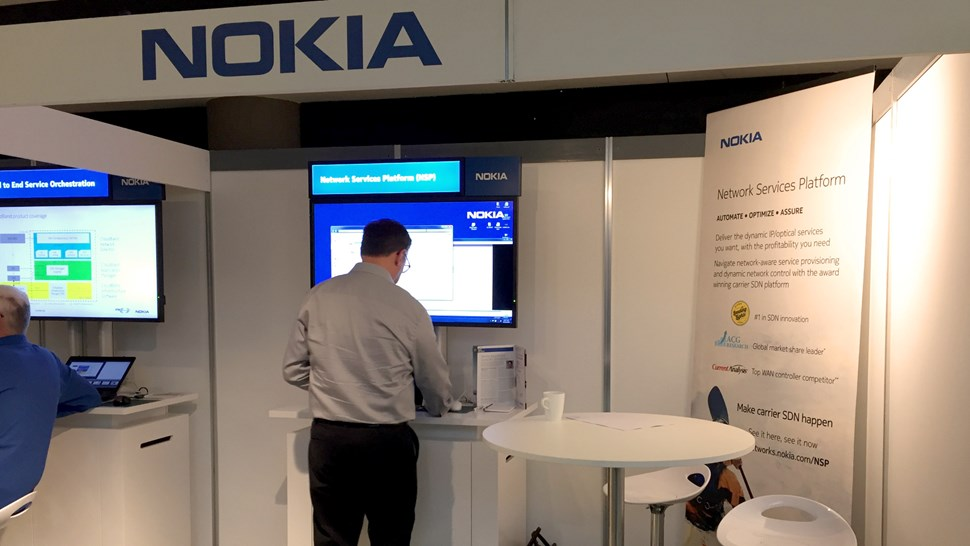 Nokia NSP booth