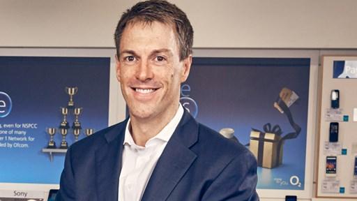 Mark Evans, CEO © O2