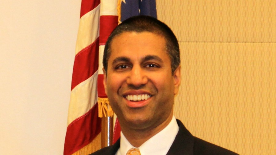 FCC Chairman, Ajit Pai  -  still smiling?     via Flickr  Governor Nikki Haley (Public Domain Mark 1.0)