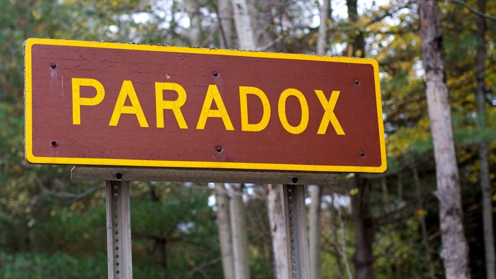 Paradox sign