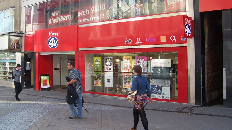 Phones 4u in happier times © Mtaylor848/cc-licence