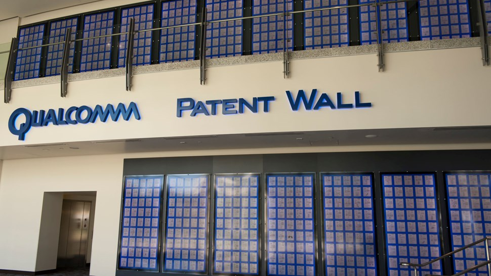 Qualcomm patent wall flickr