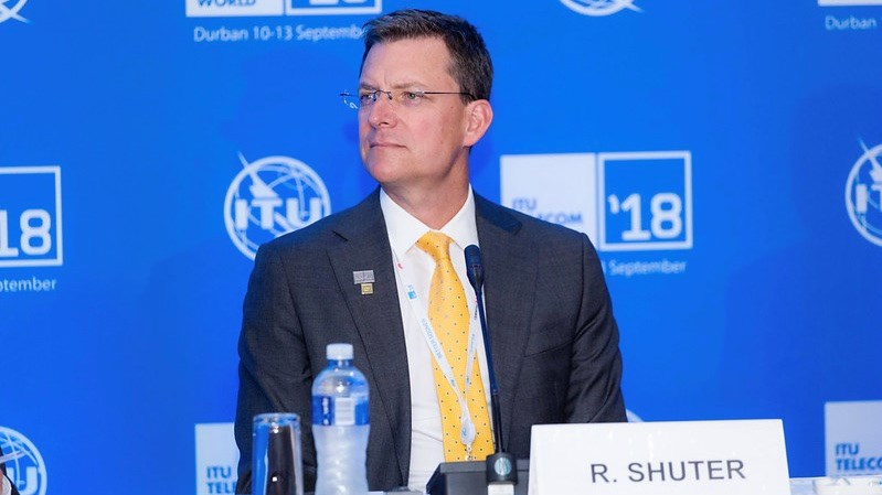 Rob Shuter (picture courtesy of ITU)