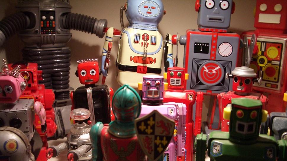 Robots flickr