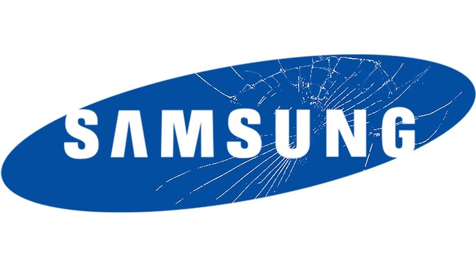 Samsung-cracked-logo