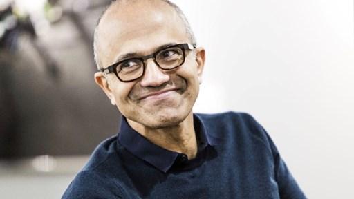 Microsoft CEO Satya Nadella: Photo courtesy of Microsoft