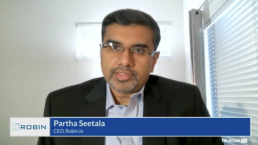 Partha Seetala, founder and CEO at Robin.io