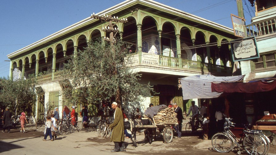 Kashgar, on the Silk Road, back in 1992... © Flickr/cc-licence/fdecomite