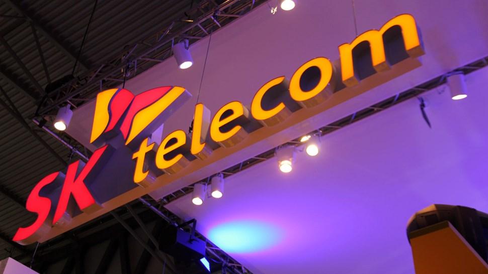 SK Telecom sign