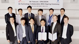 SK Telecom signs 5G MoU with Ericsson