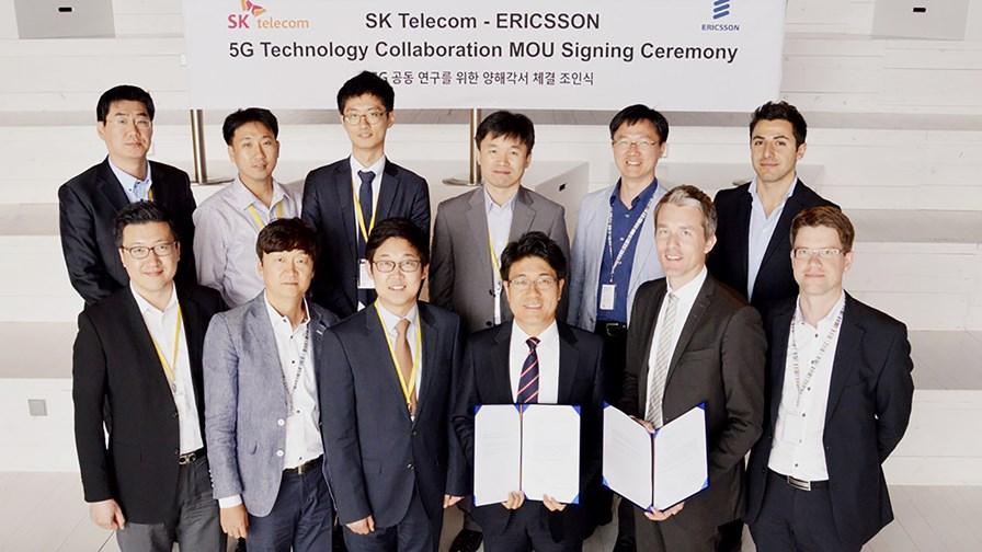SK Telecom and Ericsson sign 5G MoU