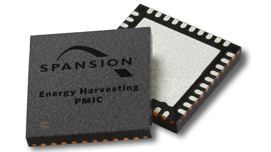 Energy harvesting PMICs © Spansion