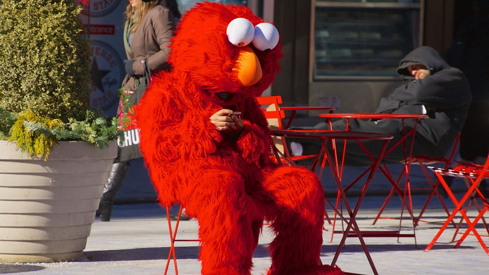 Spectrum for all, even Elmo...