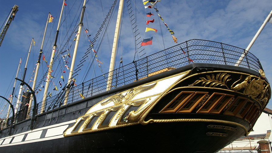 Bristol's heritage - SS Great Britain, the world's first iron-hulled screw-driven liner,  launched in 1843 - Photo via Flickr © Dave Hamster (CC BY 2.0)