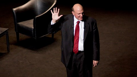 Ballmer leaves Microsoft (again), after reflecting on his life