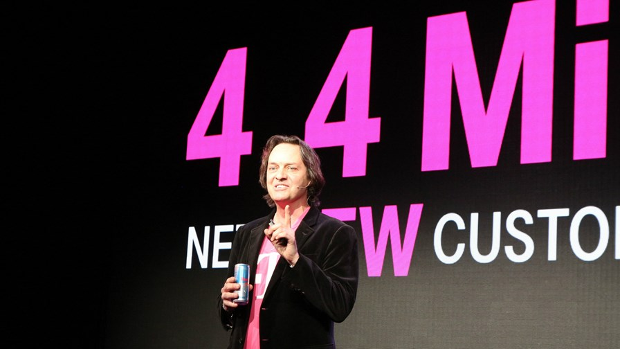 John Legere struts his stuff at CES14. By fanaticTRX (Own work) [CC-BY-SA-3.0 (http://creativecommons.org/licenses/by-sa/3.0)], via Wikimedia Commons