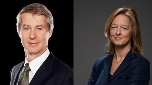 Mats Granryd and Allison Kirkby © Tele2