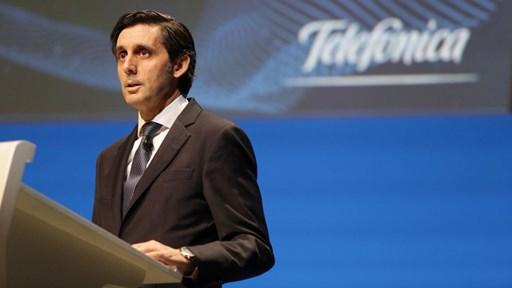 José María Álvarez-Pallete, Executive Chairman © Telefónica