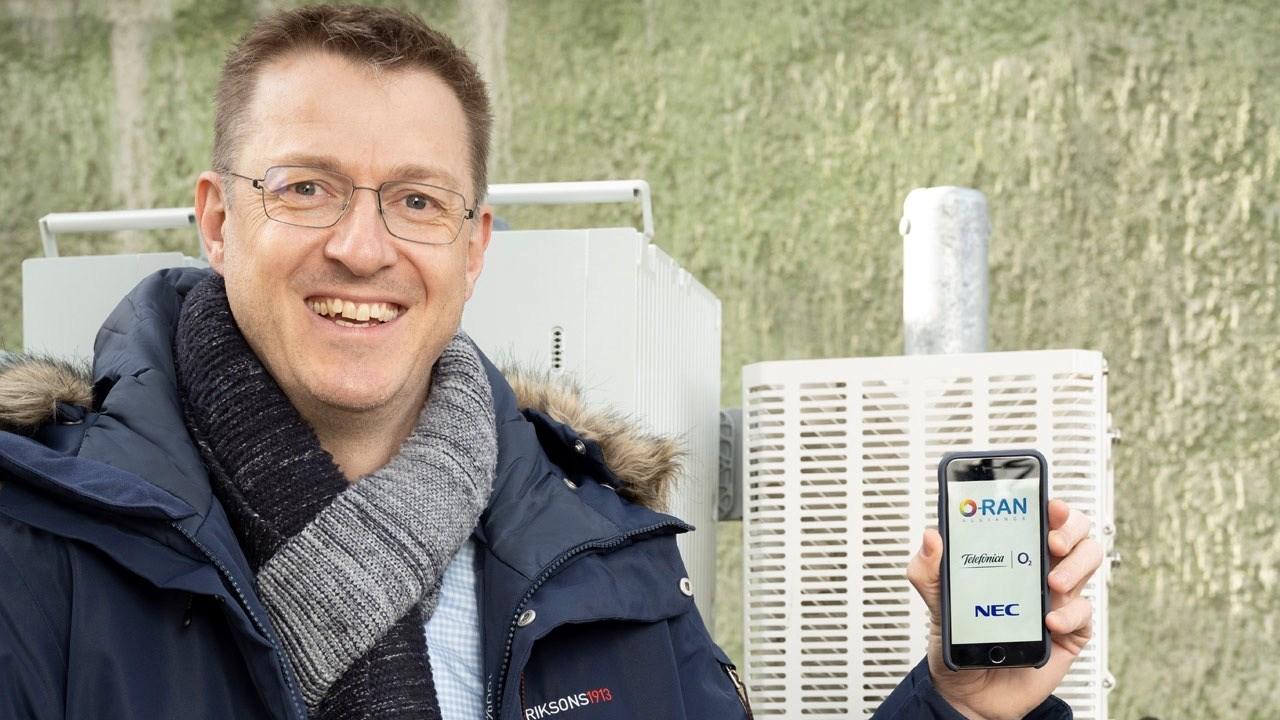 Telefónica Germany begins Open RAN deployment, teams with NEC