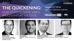 Catch-up TelecomTV: How to accelerate video processing at the edge