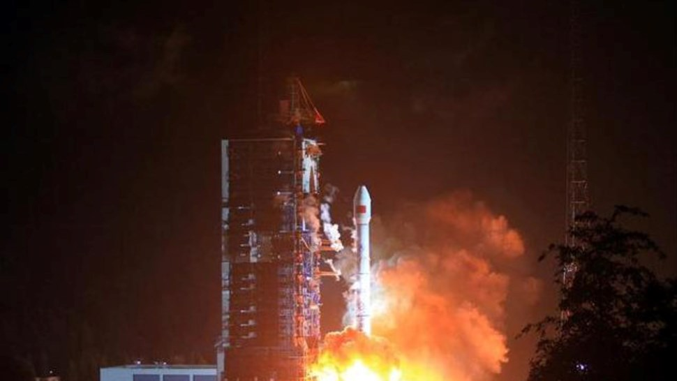 Tiantong-01 launch c CAST:Xinhua