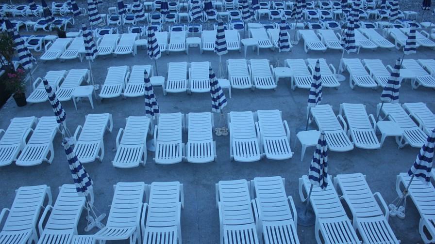 The beach at Nice.    via Flickr © EEPaul (CC BY 2.0)