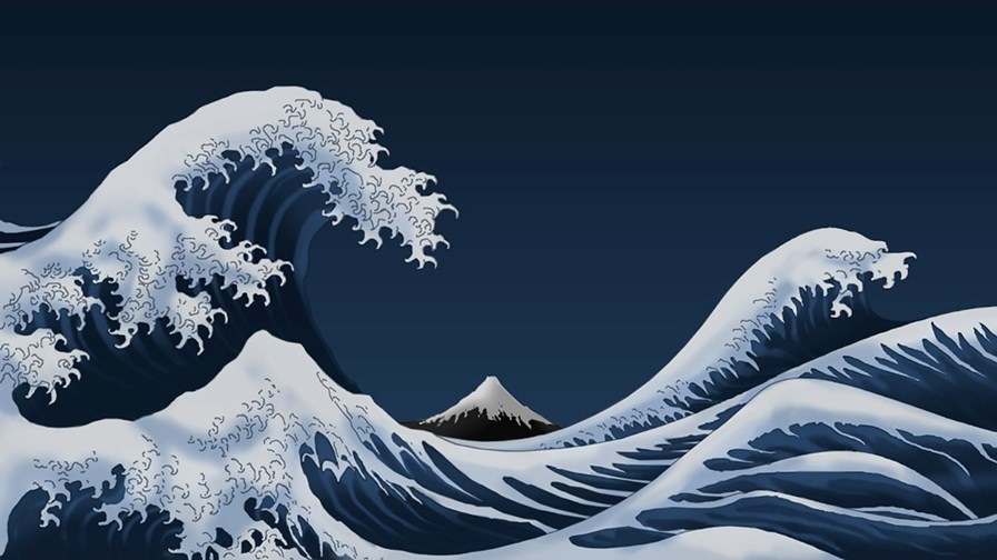 © Flickr/cc-licence/Thor (after the Great Wave off Kanagawa)