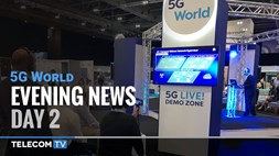 5G World Evening News – Day 2