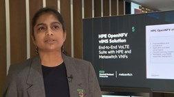 HPE and Metaswitch demonstrate HPE OpenNFV vIMS solution at MWC17