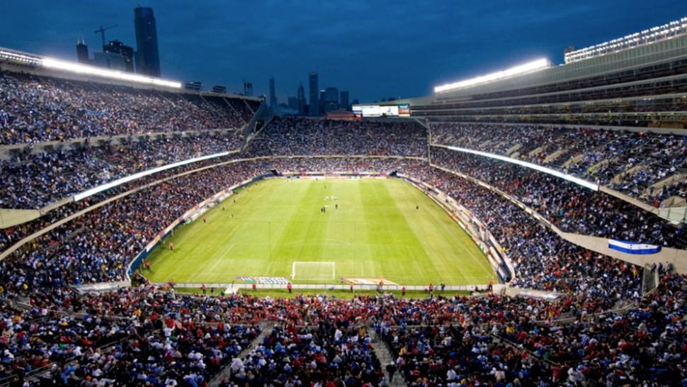 US soccer stadium c Concacaf