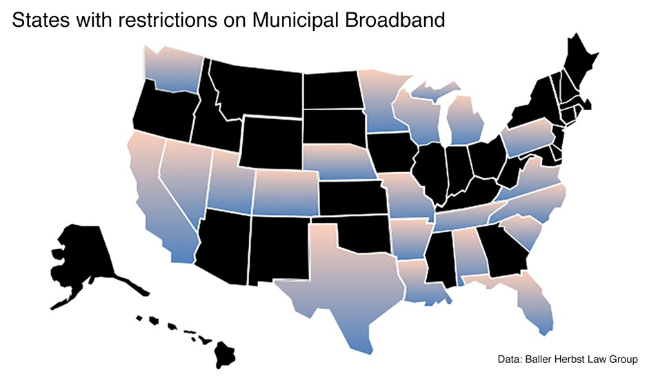 USA Map Broadband