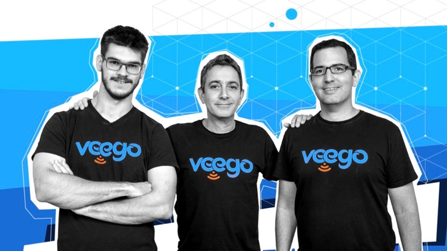 Veego team (from the left): CTO Denis Sirov, CEO Amir Kotler, CPO Reffael Caspi