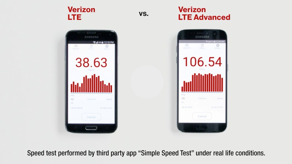 Verizon LTE screenshot