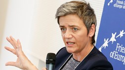 EC's Vestager blocks Hutchison's takeover of UK's O2