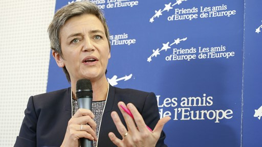 EU Competition Commissioner, Margrethe Vestager   via Flickr © Friends of Europe (CC BY 2.0)